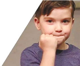 表情 小男孩握拳加油图片 图片大全 表情