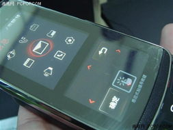 KF600采用Touch Screen先进设计