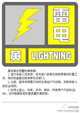 ...京市气象台凌晨发布雷电黄色预警 局地有冰雹
