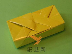 教师节礼物精致折纸盒子制作教程