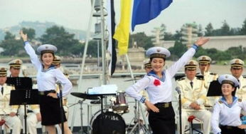 实拍时尚的朝鲜女兵 貌美如花