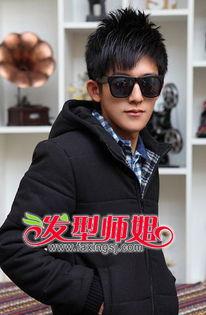 男生阳光的刘海发型