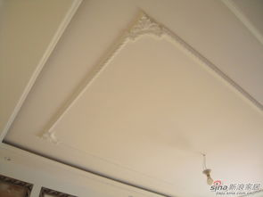 屋顶石膏线造型图片-史无前例 楼梯间改造欧式奢华样板间
