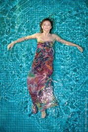 朝鲜花游队泳装美女-乌克兰