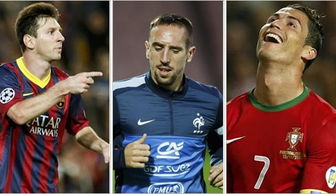 Messi, Ribery and Ronaldo shortlisted for Ballon d Or