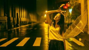 伤感雨中撑伞女孩唯美桌面壁纸图片下载7高清大图预览1920x1080 美...