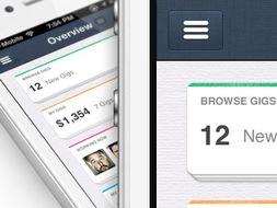 ...one应用程序设计|仪表板的用户界面,UX界面-30个iPhone和iPad应...