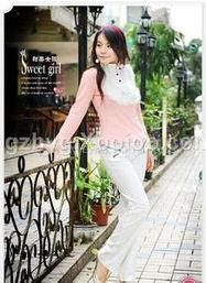 女孩穿白色裤子好看吗