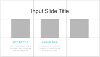 使用PPT制作出正文页三图文版式的具体操作方法
