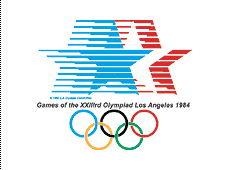 2008北京奥运会 -第二十三届洛杉矶奥运会会徽