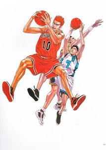 怎么画灌篮高手中Q版的樱木花道卡通人物简笔画