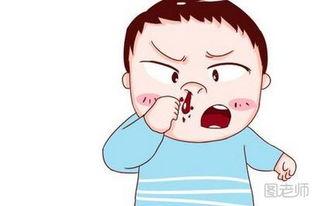 表情 图 流鼻血是什么原因流鼻血可以抽烟吗 图老师 表情