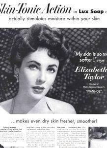 伊丽莎白 泰勒广告宣传画集锦