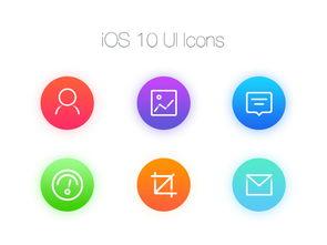 ios10uiicons常用图标图片设计素材 高清psd模板下载 0.10MB 手机...