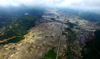 武宣县俯瞰图 -武宣旅游 桂风网