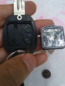 2010款乐乐更换遥控钥匙电池作业