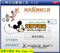 网页反限制工具 V1.0 绿色版