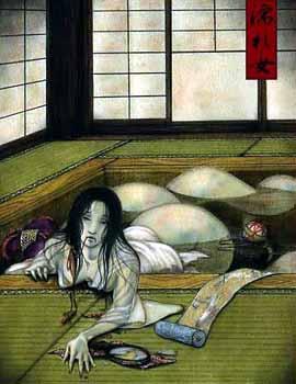 日本民间鬼怪传说...
