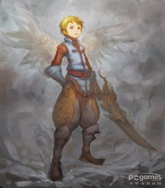 花小铎之飞龙宝藏-玩家精美龙之谷手绘之剑圣 战神