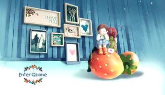 克隆QQ空间 草莓之恋QQ空间欢迎动画代码