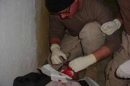 监狱中残留的血迹   一囚犯被迫裸... 中新网2月15日电