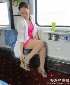 ...年模特 丝袜美熟女的火车旅程