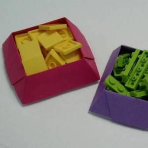 纸折盒子的方法