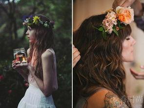 如花绽放的美感只能在这样的鲜花发箍上寻找到了,让你找回了18岁花...