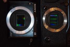 00万像素X-Trans CMOS;而   索尼   NEX-7采用的是2400万Exmor ...