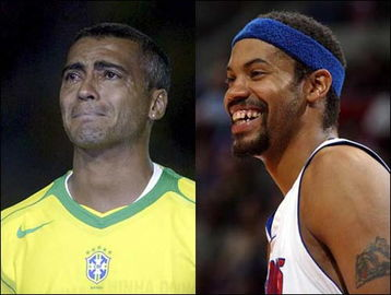 NBA足坛坏孩子大PK