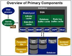 Oracle数据库体系结构 内存结构和进程结构