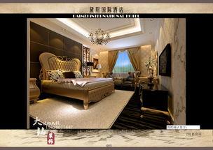 酒店客房设计 主题酒店设计 高档酒店设计 星级酒店设计-郑州市装潢设...