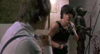 评为黑带影史第二名,第一名是李小龙的某一段格斗,足以证明龙哥的...