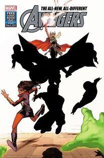 漫威公布两名全新异能复仇者联盟角色 惊奇女士与 女雷神