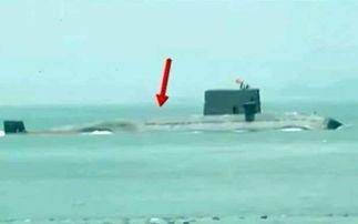 ...国海军335号039B潜艇巡航印度洋后,停靠卡拉奇补给休整一星期后...