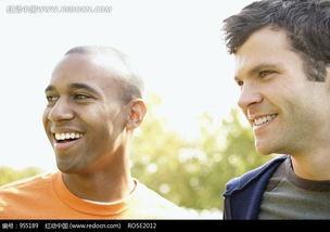 大笑的两个外国人图片免费下载 编号955189 红动网