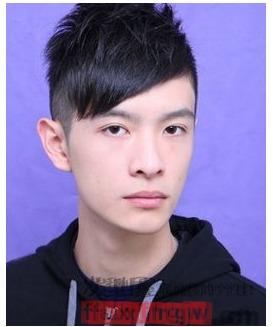 韩式学生发型男生剃两边