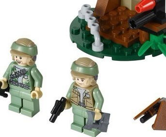 LEGO 乐高 星球大战系列 恩多反抗军部队来源京东商城的儿童玩具商...