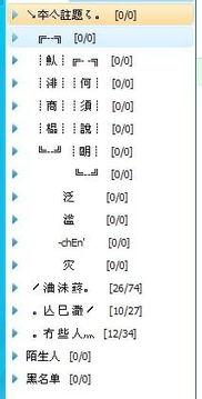 ...鸿 字的非主流繁体QQ分组