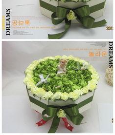 ...婚喜糖盒军绿色蛋糕形独家设计蛋糕喜糖盒高档多层