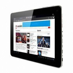 9.7 inch Tablet PC, 1024 x 768, 10 point Touch Panel, Android 4.0.4 ...