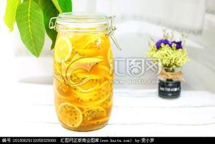 柠檬蜂蜜百香果