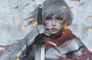 多情剑客无情剑 二次元的美女剑客小姐姐们图片 游侠图库