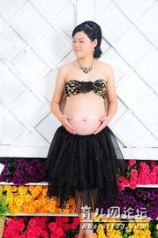 双胞胎31周大肚照 25周孕妇写真