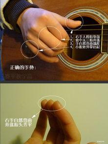 吉他入门指法教学