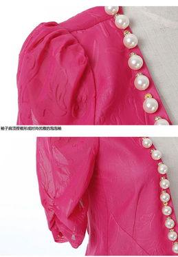 26s/2女士羊绒衫插肩袖子袖山的织法