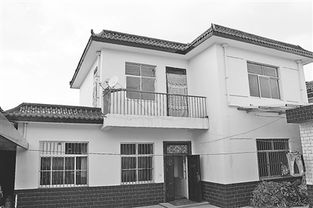 樊旺林家的二层小洋楼-正宁高红村 贫困户住上了小洋楼