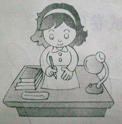 急急急 看图写话 一年级下学期语文试卷 三