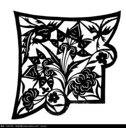 叶子植物剪纸图案AI素材免费下载 编号5240766 红动网