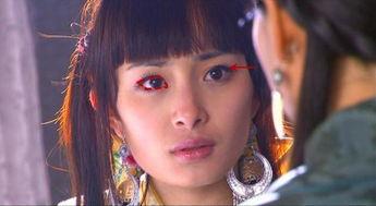 灵师残运-这样大大的眼睛配上卧蚕,就是赤果果可爱和灵气的感觉.   特别是红...